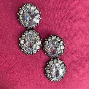 Joan Boyce Crystal Earrings